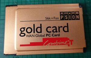PSION Gold Card PCMCIA 56K+Fax