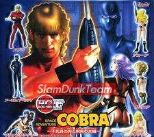 Space Adventure Cobra Bandai 2003 Gashapon Figure Figurine HGIF Full Set of 6