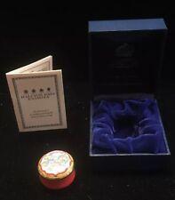 Absolutely Stunning Halcyon Days Enamael Trinket Box Box (B