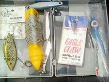 OCEAN SURVIVAL---sailboat dingy-EMERGENCY FISHING KIT. Squid. Jigs glow sticks