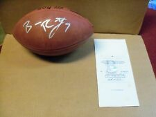 Ben Roethlisberger, Pgh Steelers, Signed Wilson NFL Tagliabue Football, w/COA