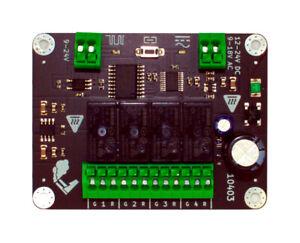 Decoderwerk 10403 - Schaltdecoder mit 4 Relais