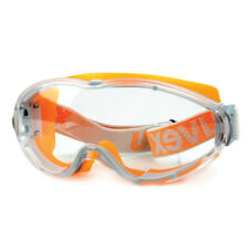 UVEX Safeyear Safety Goggles Glasses Anti Fog Scratch Resistant UV Protective .