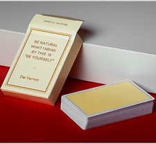 Magic Notebook Deck - Limited Edition (Champagne) by The Bocopo Playing Card Com