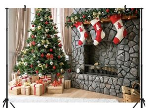 Christmas Theme 6X9Ft Seamless Cp Pictorial Cloth Photography Background