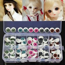 100pcs For Teddy Bear Doll Animal 12mm 5 Colors Plastic Safety Eyes Crafts  &