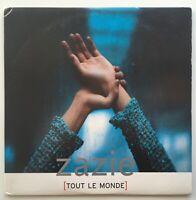 DÉDICACÉ | ZAZIE : TOUT LE MONDE (REMIX) - [ CD SINGLE ]