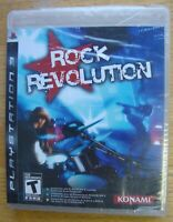 ROCK REVOLUTION SEALED PS3 SONY PLAYSTATION 3 GAME