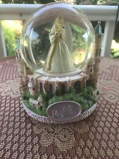 Barbie As Rapunzel Musical Snow Globe Snowdome Works Great