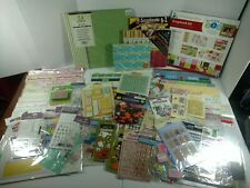 Lot Of Scrapbooking Crafts Supplies
