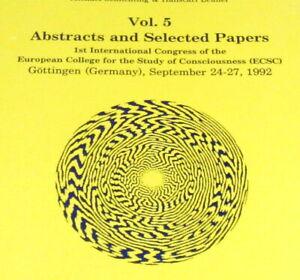 WORLD CONSCIOUSNESS Psychedelic Research LSD Ayahuasca MDMA Shulgin Hofmann 1992