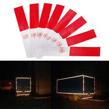 5X Red Auto Car Truck Reflector Sticker Collision Safety Warning Tape Strip Film