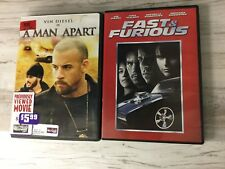 DVD lot Fast and Furious and A Man Apart