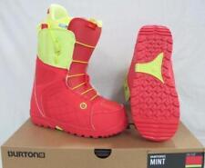 NEW Burton Womens $175 Mint Snowboard Snowboarding Boots Coral Yellow Size 7