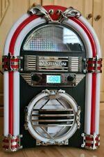 CD-Mini Jukebox  mit Bluetooth und CD-Player, OVP, 1x benutzt, Rechnung 4.10.21
