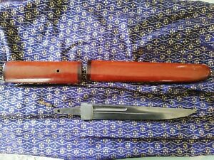 tanto KAMIKAZE Antique Samurai aviateur Japon lame période edo