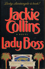Lady Boss by Jackie Collins-First Edition/DJ-1990