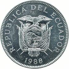 COIN / ECUADOR / 5 SUCRES 1988   UNC    #WT18183