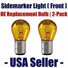 Sidemarker (Front) Light Bulb 2pk - Fits Listed Pontiac Vehicles - 2357A