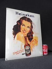 Heineken Craft Bier / Beer Cafe Bar Decoration Porcelain Enamel Advertising Sign