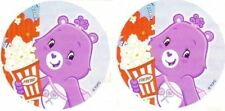 2 x Circle Stickers ~ Show Day Care Bears Party Favours Loot ~