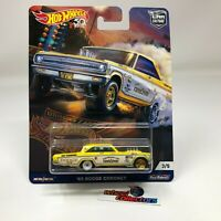 '65 Dodge Coronet * YELLOW * Hot Wheels DRAG STRIP Car Culture * T4