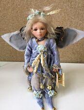 "Laboratories Del Montedragone Porcelain Doll Handmade In Italy ""Veronica"" Fairy"