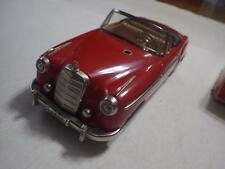 Schuco Elektro Control-Car (Germany) Red Mercedes-Benz 220S Cabriolet Tinplate