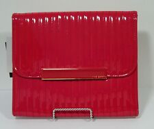 """Ted Baker 11"""" Tablet Case - Red Leather"""