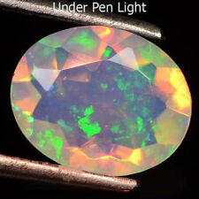 1.68Cts BRILLIANT NATURAL MULTI COLOR SPARKLING GEM - FACETED WELO OPAL #ZW2380