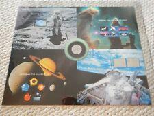 US Stamps 3409 - 3413 Space Achievement & Exploration 2000 MNH Uncut Press Sheet