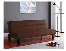 KEBO Futon Couch Sofa Bed Lounge Chair Lounger Fold Out Convertible BROWN NEW