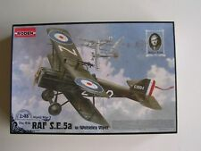 RAF S.E.5a with Wolseley Viper, Roden #416, 1/48