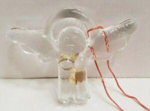 Kosta Boda Sweden Angel Ornament Bertil Vallien Christmas Swedish Glass 1976