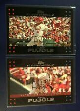 2007 Topps #130 #308 ALBERT PUJOLS St.Louis Cardinals Lot PACK FRESH SHARP !