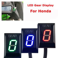 Universal 6 Speed Gear Indicator LED Digital Display for Honda CBR600/1000REER