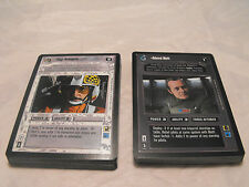 STAR WARS CCG PREMIERE BLACK BORDER RARE 2 SET (48 cards)