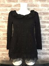 WOMENS TBF GUIPURE LACE OVERLAY TUNIC TOP UK 8 BNWT *GORGEOUS*