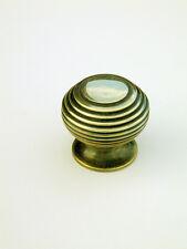 Small Antique Solid Brass Beehive Cabinet / Cupboard Door Knob / Handle