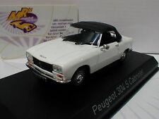 """NOREV 473410 # Peugeot 304 S Cabriolet Baujahr 1973 in """" weiß """" 1:43 NEU"""