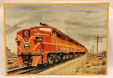 """Southern Pacific's Streamlined """"Shasta Daylight"""" Metal Railroad Sign 11.5"""" x 16"""""""