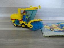Lego 6649 - Streetsweeper + figure - 100%  komplet +bauanleitung