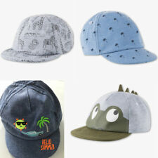 Cap Jungen Baby Hut Hüte Mütze Sommerhut Sommer Kappe Boys Badge Cap Jeans Denim