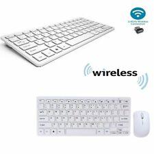 KIT TASTIERA E MOUSE MINI WIFI WIRELESS PER PC 2.4GHz KEYBOARD USB SENZA FILI