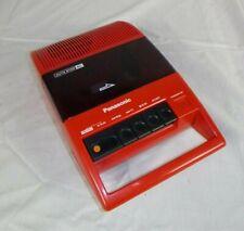 Vtg Panasonic RQ-44 RQ44 Red Portable Cassette Tape Player Recorder Works