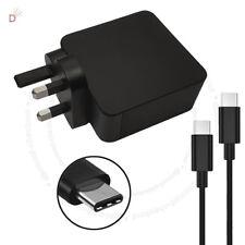 65 W USB-C Adaptateur Chargeur Compatible Lenovo 01FR028 avec UK Plug ukdc