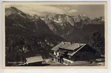 AK Garmisch-Partenkirchen, Berggasthof Eckbauer 1935