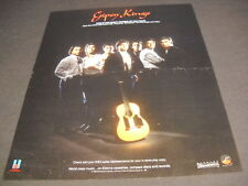 GIPSY KINGS PaRecord Of The Year original 1988 PROMO POSTER AD