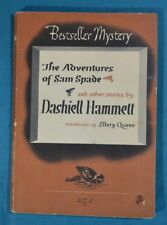 Adventures of Sam Spade Stories Dashiell Hammett Bestseller Mystery Spivak 1944