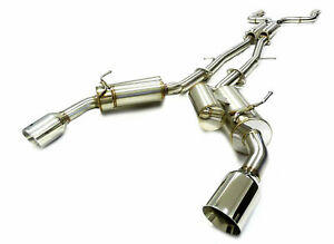 Catback Exhaust System For 2014-2019 Infiniti Q50 FM VQ37VHR By OBX